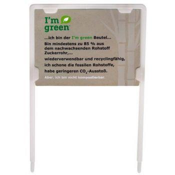 Banner I'm green