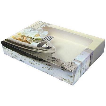 Catering Faltkartons für Alu-Platten