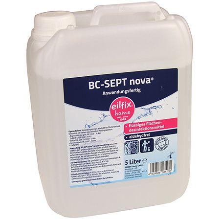 Flächen- Schnelldesinfektion Eilfilx Home BC-Sept
