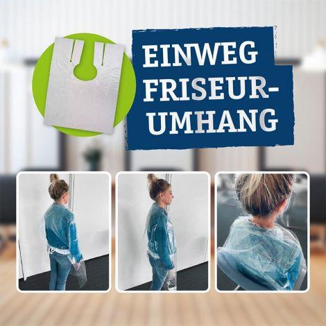 Einwegumhänge für Friseure - Made in Germany